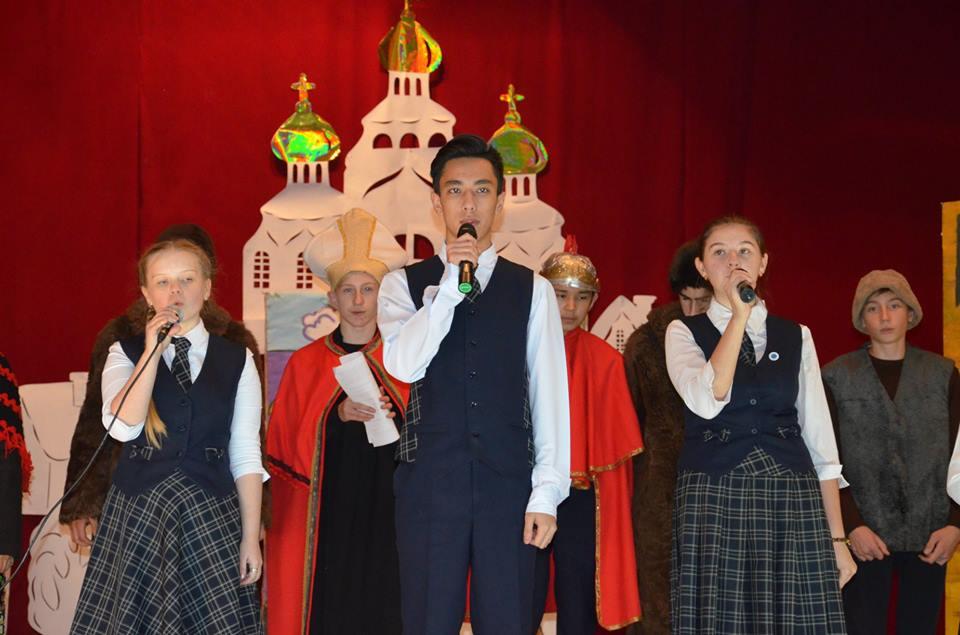 Спектакль в Корнеевке