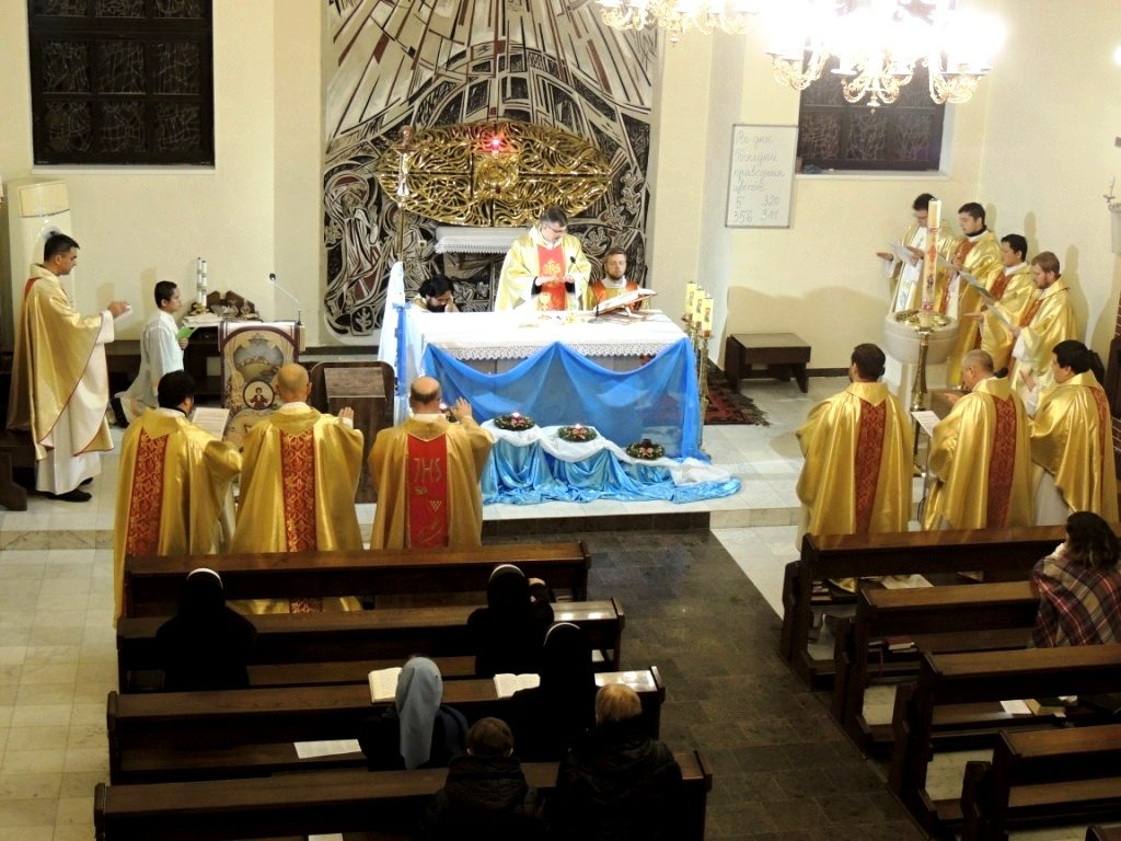 Встреча священников в Атырау