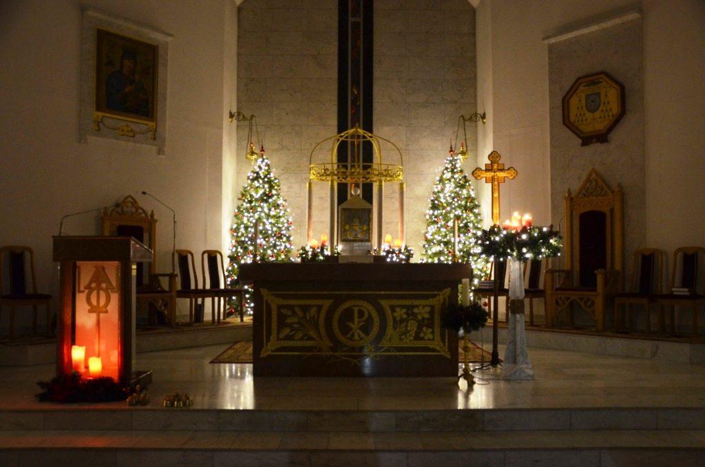 Католическое Рождество в Астане