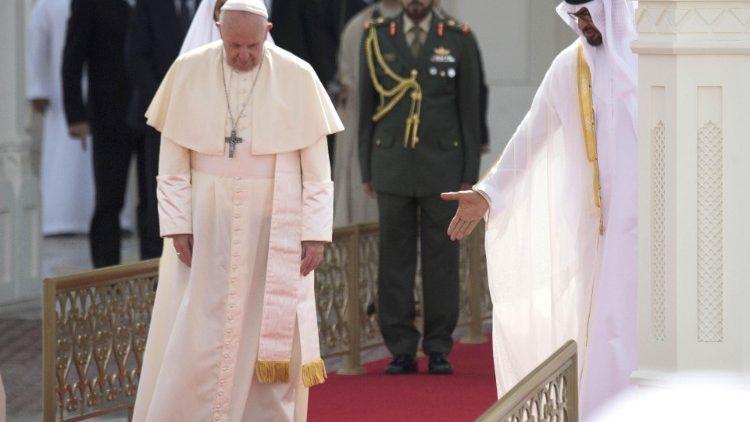 Несколько слов о двух исторических визитах Пап