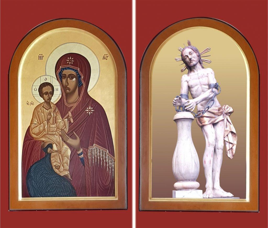 Семья израненного Иисуса