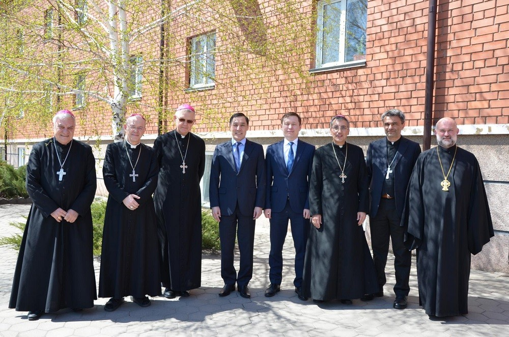 Впервые после визита в Рим встретились епископы и ординарии Казахстана