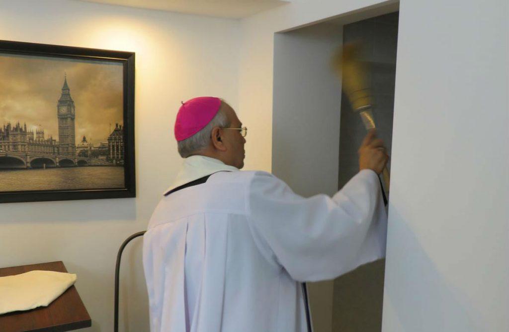 Наконец-то свершилось: нунций освятил офис новостной службы Католической церкви Казахстана
