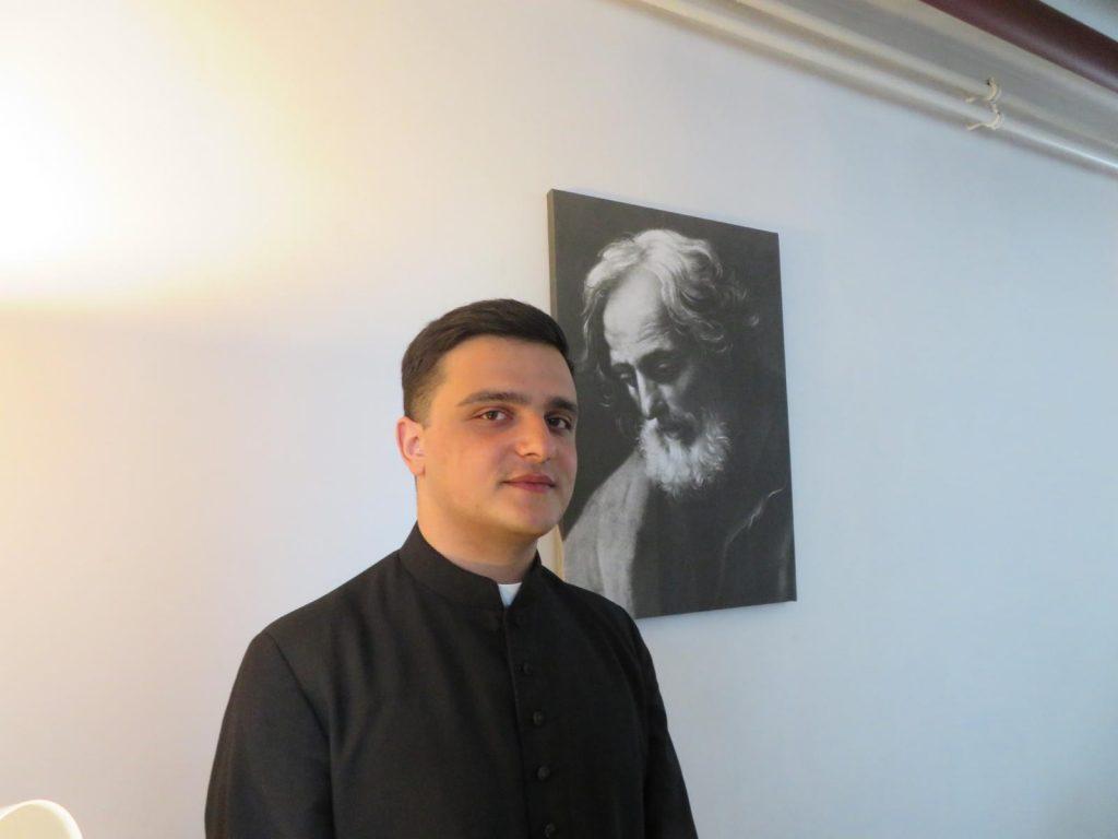 Наш грузинский семинарист был посвящен в чтецы