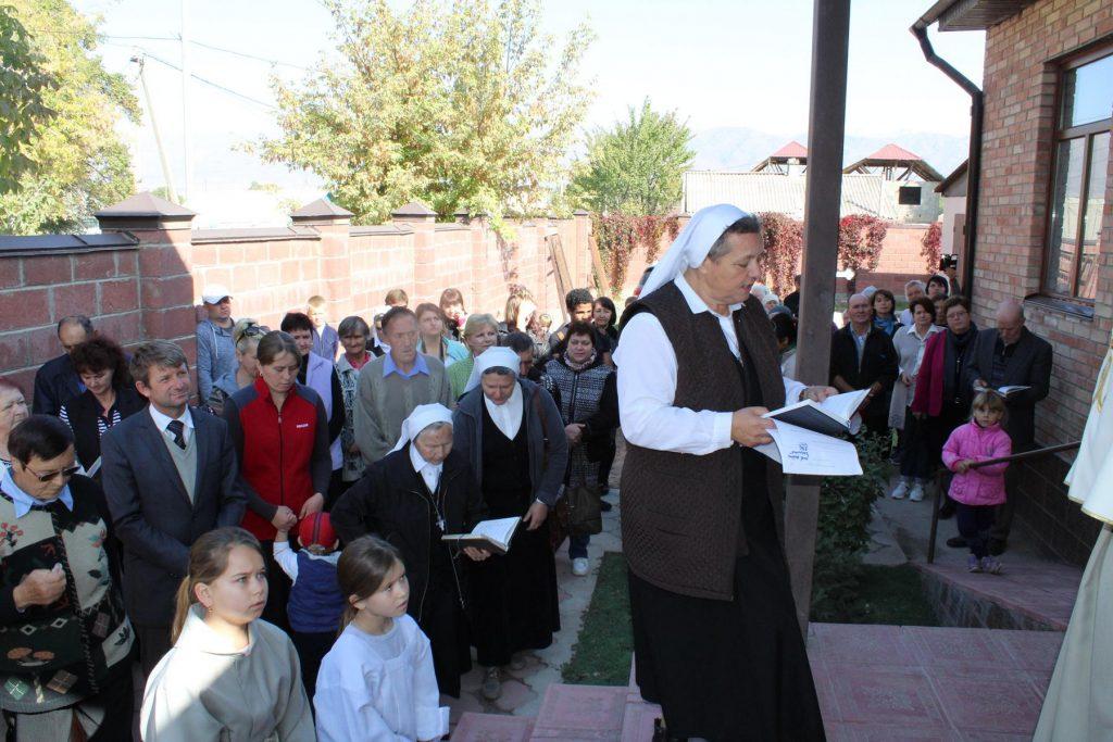 Освящен новый храм в Киргизии