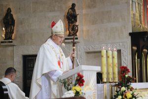 Проповедь Архиепископа Томаша Пэты по случаю освящения барельефа Девы Марии из Озерного в Торуне