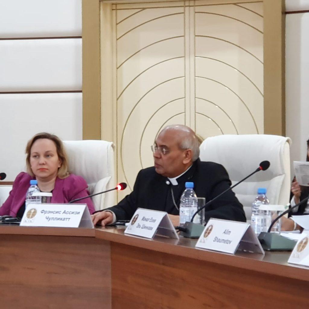 Выступление Архиепископа Фрэнсиса Ассизи Чулликатта на конференции на тему «Модель мира и толерантности Нурсултана Назарбаева»