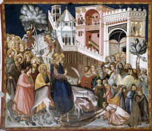 Страстная неделя в христианской культуре: Вход Господень в Иерусалим