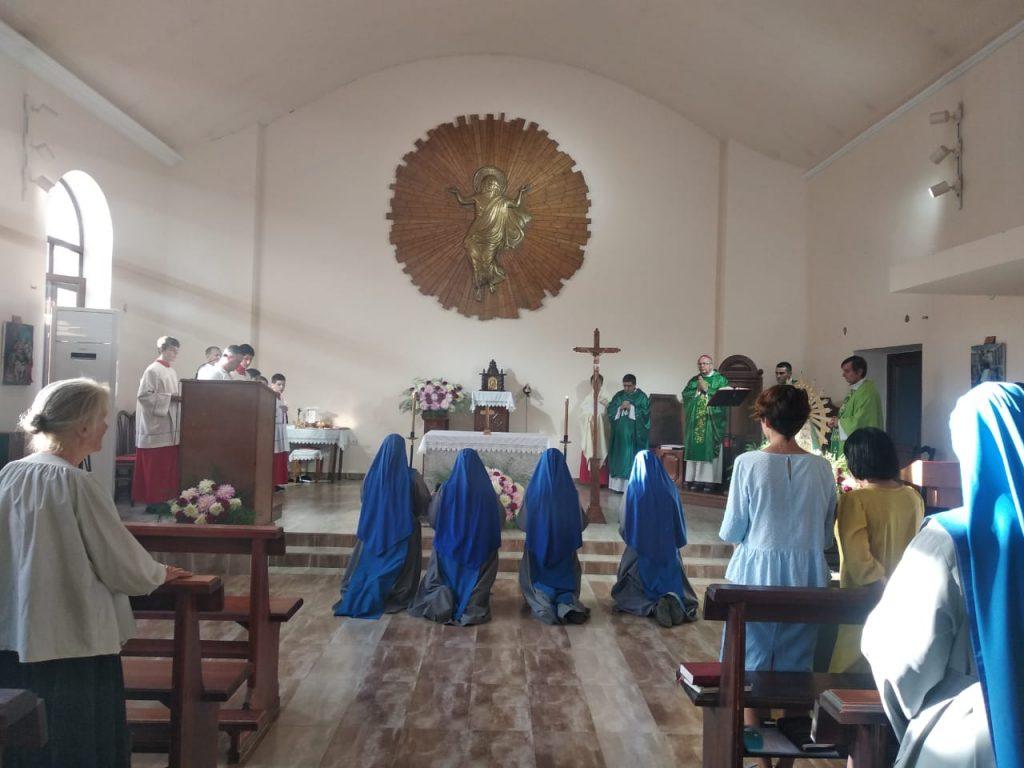 Созерцательный монастырь открыт в соседнем Таджикистане