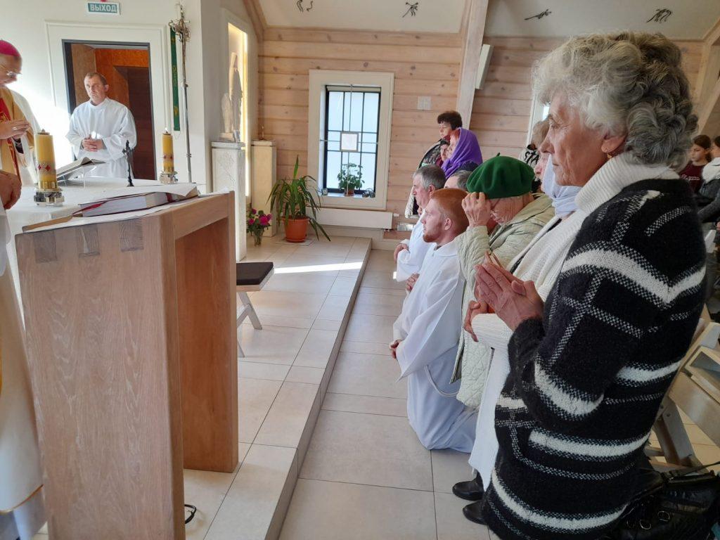 Пекарня, лекторы, миропомазание: как в Петровке отметили память св. Викентия де Поля