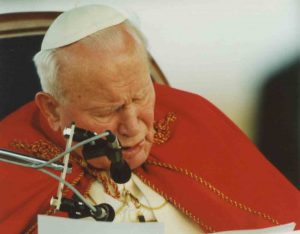 Речь Иоанна Павла II в международном аэропорту Астаны 22 сентября 2001 года