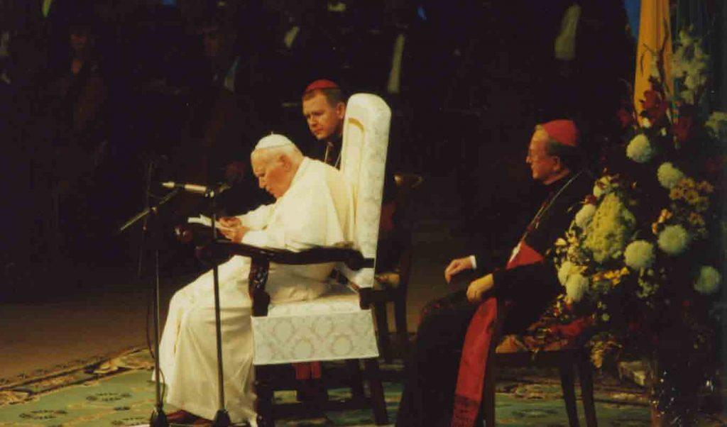 Обращение Иоанна Павла II к деятелям науки, культуры и искусства