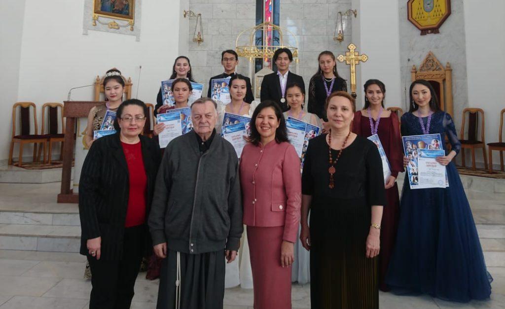 Международный конкурс вокалистов прошел в Кафедральном соборе Нур-Султана