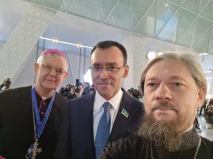 Архиепископ Томаш Пэта выступил с докладом на XIX заседании  секретариата Съезда лидеров мировых и традиционных религий